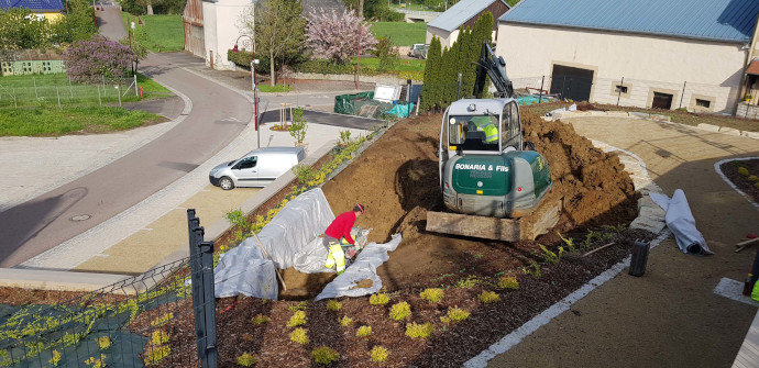 Aménagement exterieur au Luxembourg – parc