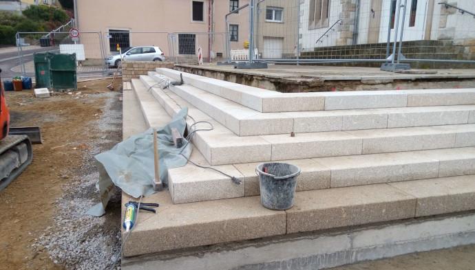Aménagement exterieur au Luxembourg – escaliercoin
